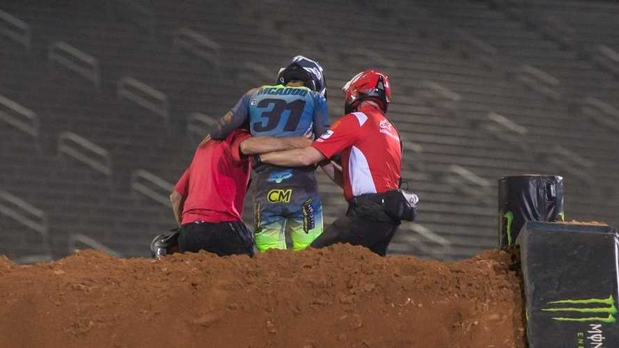 Supercross Contender Recounts Violent Crash And Stunning Comeback