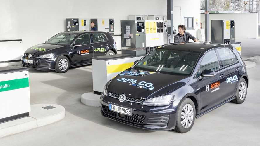 While Bosch Presents Blue Gasoline, T&E Calls E-Fuels E-Fools