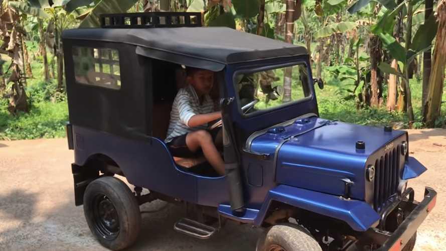Cool Little Electric Mini-Jeep Self Build Was A Labor Of Love