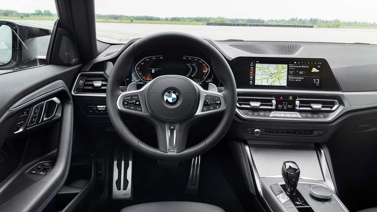 2022 BMW M240i Interior Steering Wheel