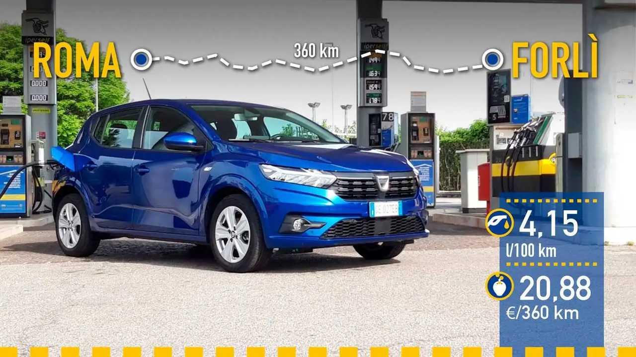 Prueba de consumo Dacia Sandero