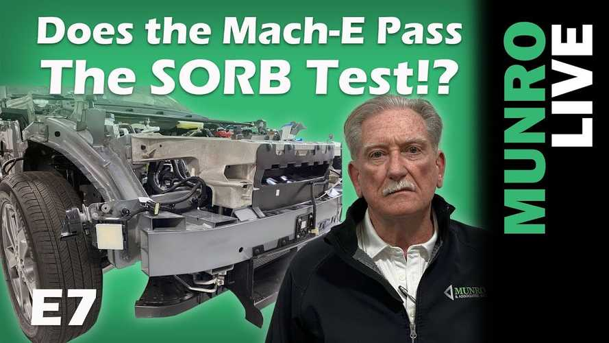Munro Live Checks Out Ford Mustang Mach-E Front And SORB Strategy