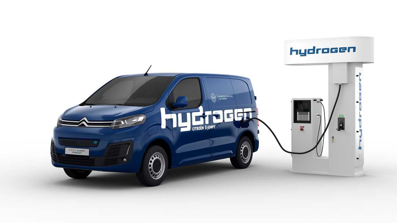Citroën ë-Jumpy Hydrogen 2021 primer industrial francés con pila de combustible
