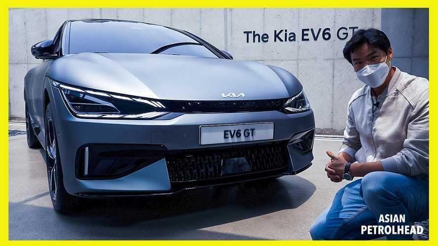 Kia EV6 2022 Ditampilkan Lebih Detail, Tampak Menjanjikan
