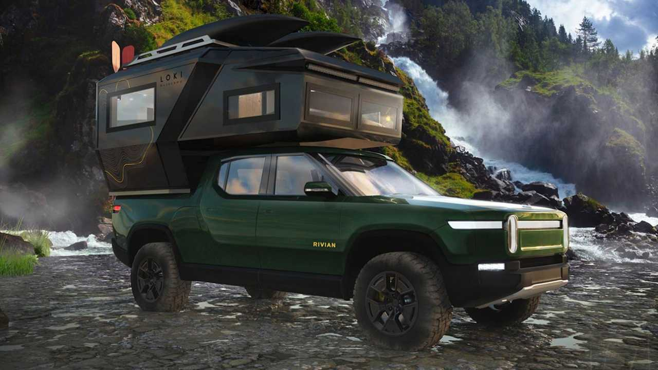 Loki Basecamp Falcon Series truck bed campers revealed.
