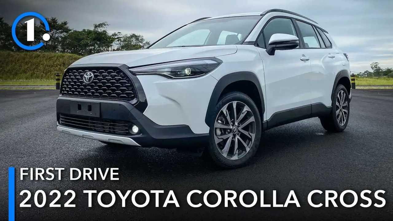 2022 Toyota Corolla Cross first drive