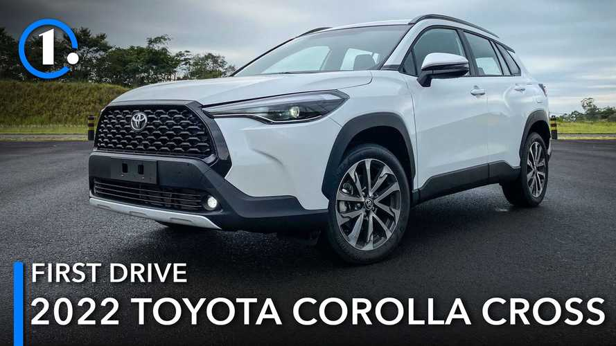 2022 Toyota Corolla Cross First Drive Review: RAV4, Size Small