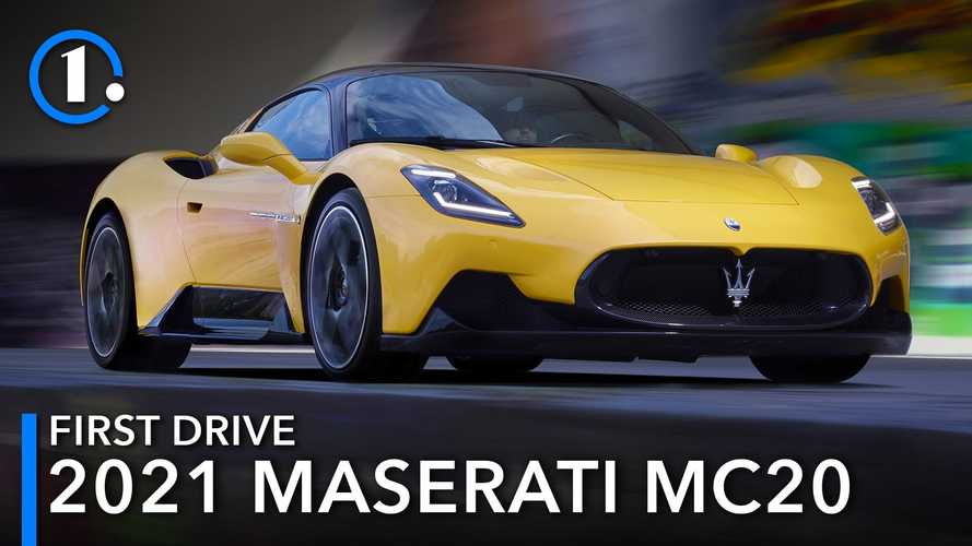 2021 Maserati MC20 First Drive Review: Passion Project