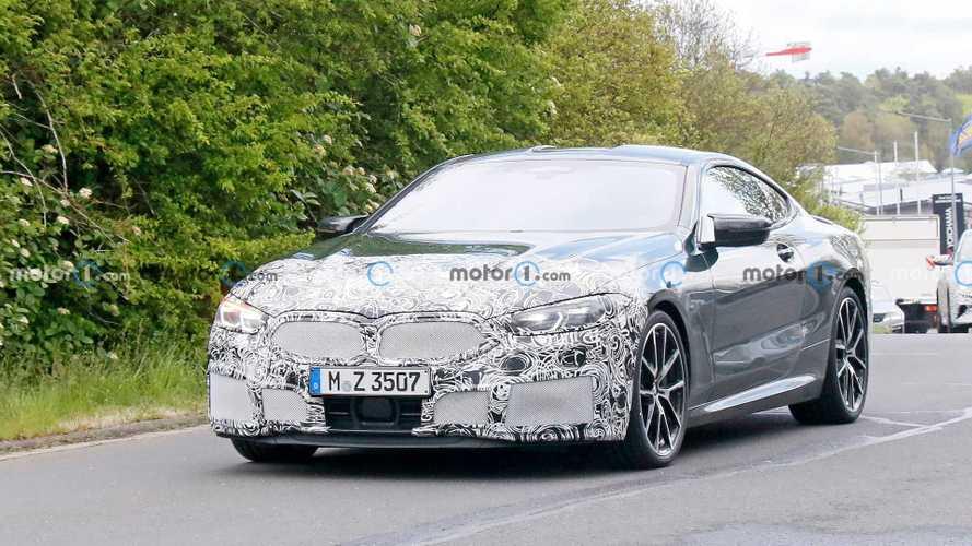 BMW 8 Series Facelift Spied On Video Sounding Like A V8 Rockstar