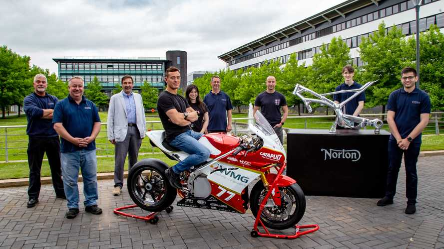 Norton Motorcycles steps up to support Warwick Moto electric programme