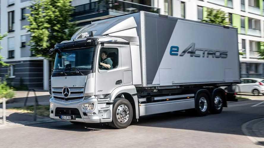 Mercedes eActros: Elektro-Lkw für den Verteilerverkehr