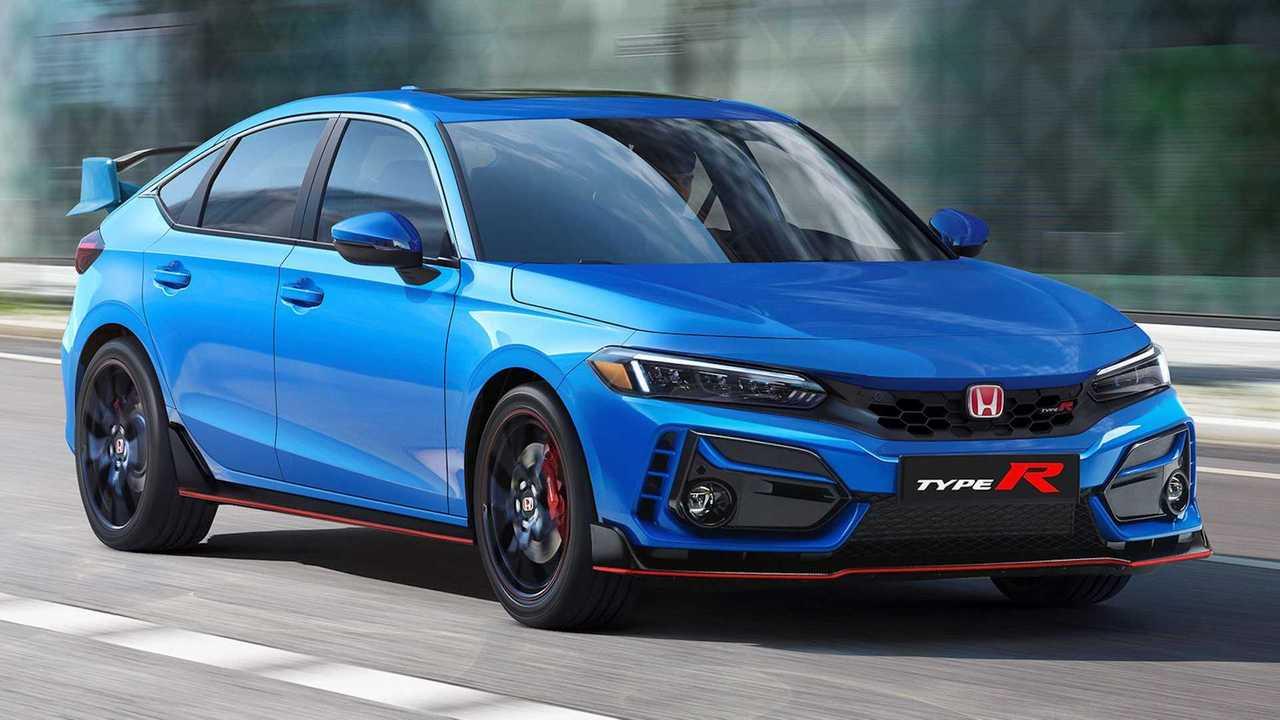 Next-gen Honda Civic Type R renderings.