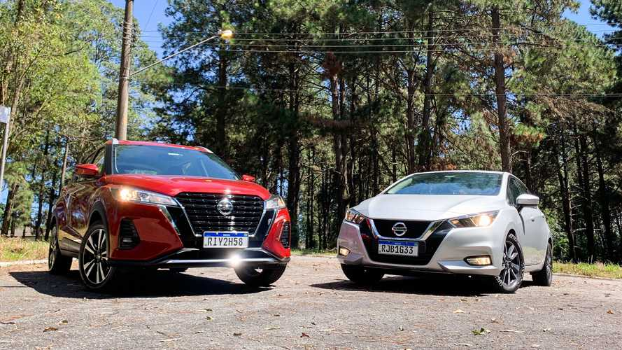 Comparativo Nissan Kicks Advance vs. Versa Advance: SUV ou sedã?