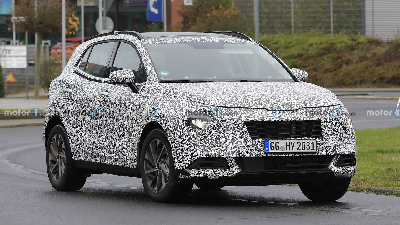 New Kia Sportage spied in Germany