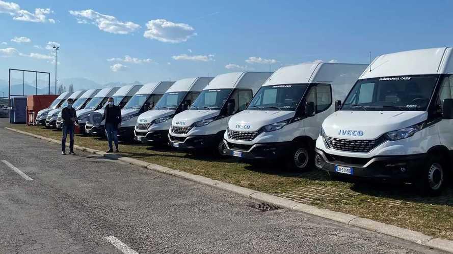 Viacqua amplia la flotta con 26 Iveco Daily
