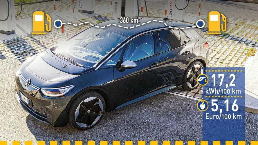 Tatsächlicher Verbrauch: VW ID.3 im Reichweiten-Test