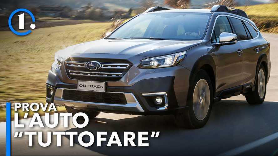 Nuova Subaru Outback (2021), la prova della sesta generazione