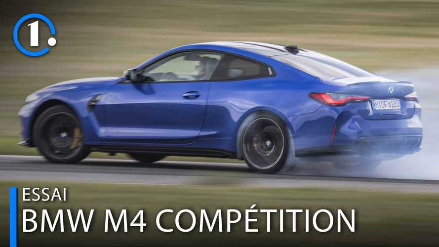 """Essai BMW M4 Compétition (2021) - A-t-elle l'âme d'une """"M"""" ?"""
