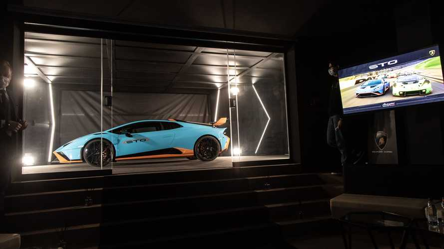 Lamborghini Huracan STO Exclusive First Look