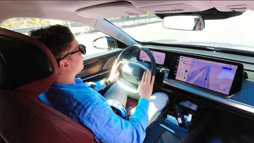 VIDÉO - Le système de conduite autonome de XPeng en action