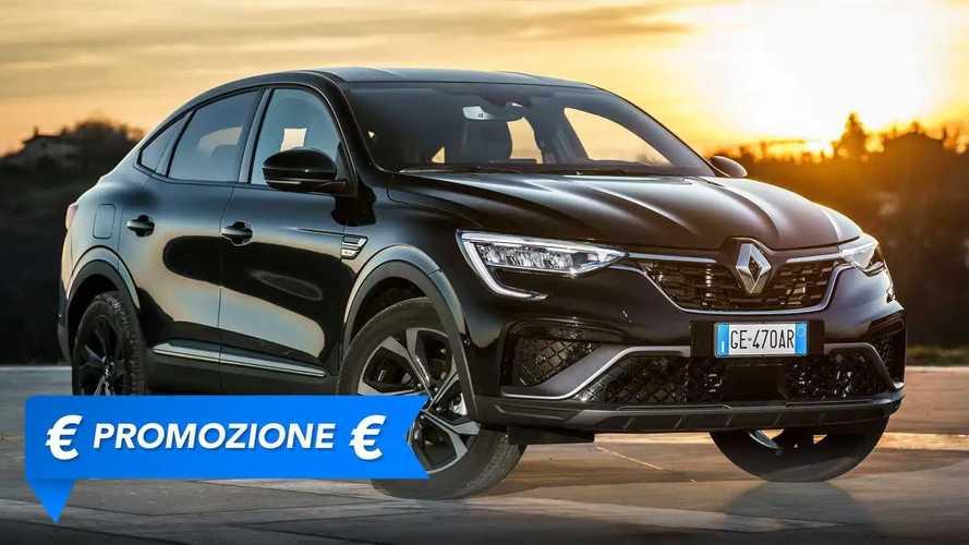 Promozione Renault Arkana Hybrid, perché conviene e perché no