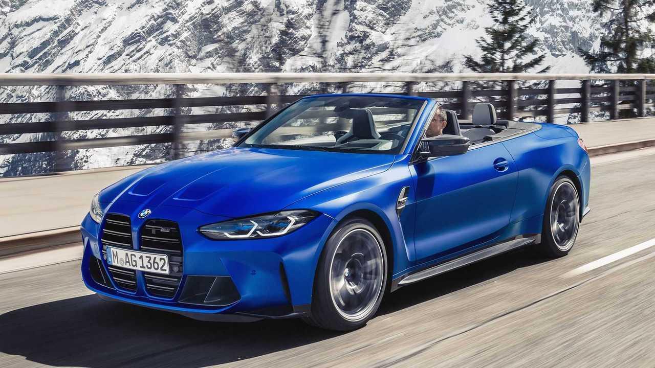 Das neue BMW M4 Cabrio Competition xDrive
