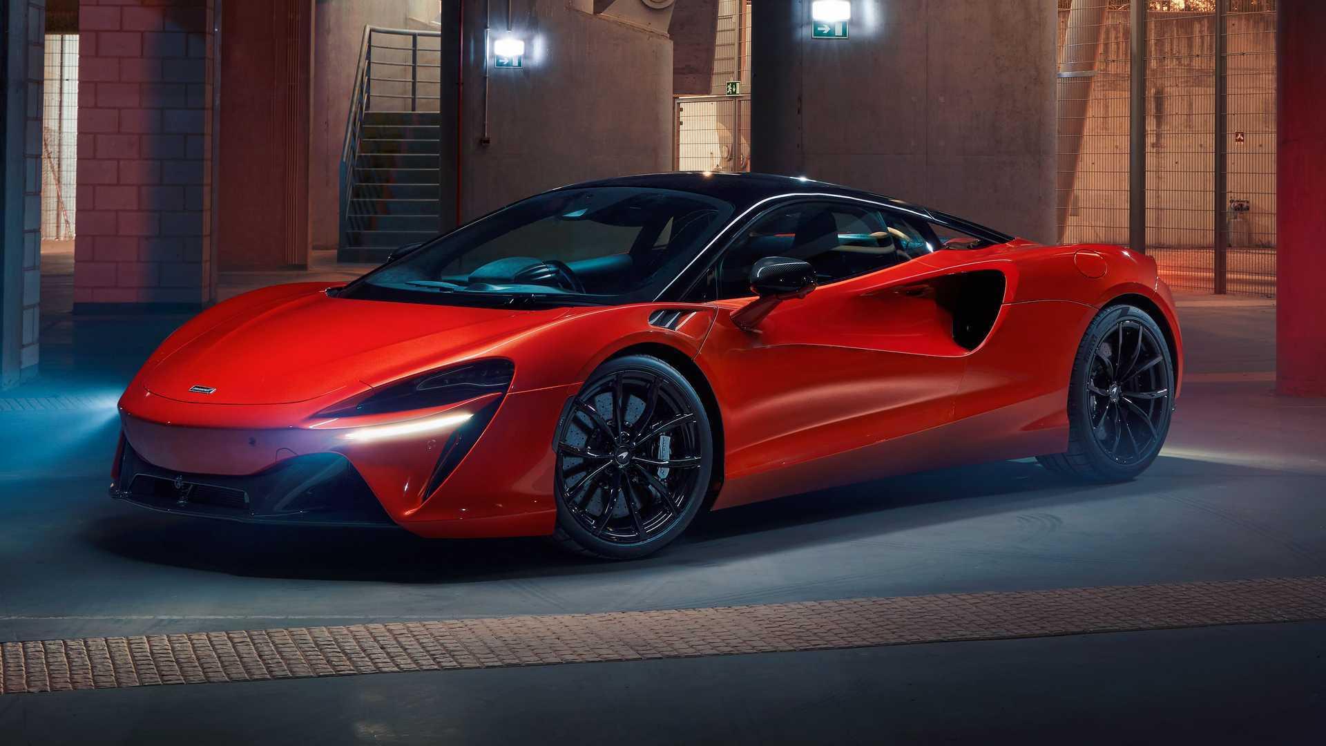 2022 McLaren Artura Three-Quarters Inside
