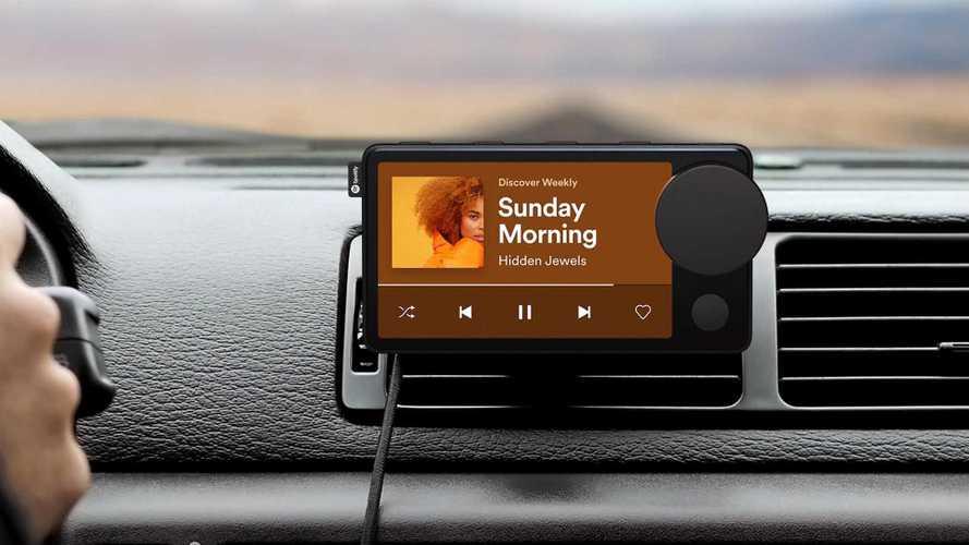 Spotify cria aparelho para usar nos carros