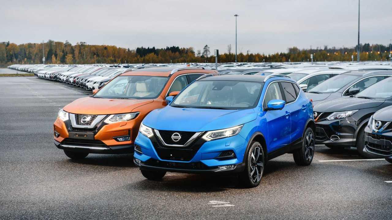 Обновленные Nissan Qashqai и X-Trail оценили в рублях