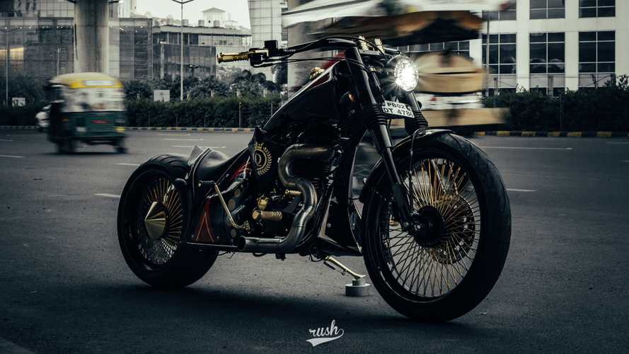 "Neev Motorcycles ""Queen"" Royal Enfield 500 Bobber"