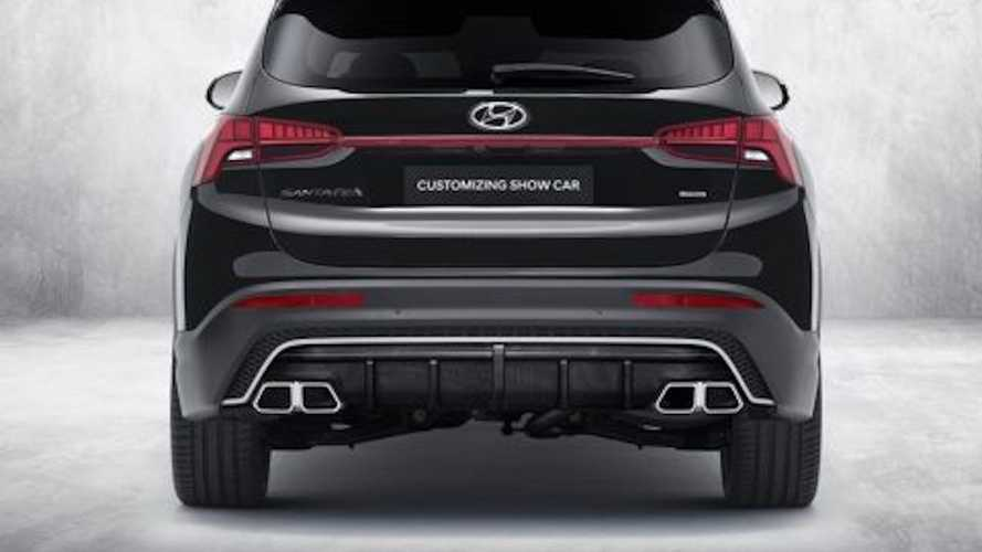 Hyundai Santa Fe con N Performance Parts