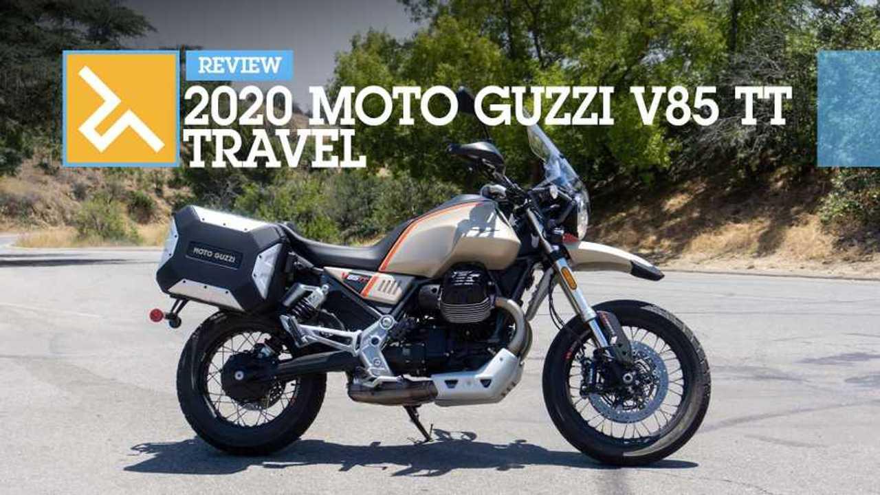 2020 Moto Guzzi V85 TT Travel Review - Main