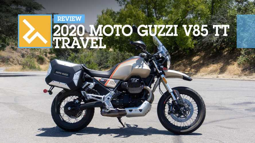Review: 2020 Moto Guzzi V85 TT Travel