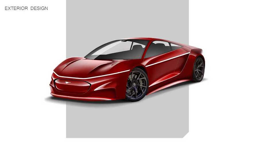 Ortadan motorlu Ford Mustang, Mach-E dokunuşları ile hayal edildi