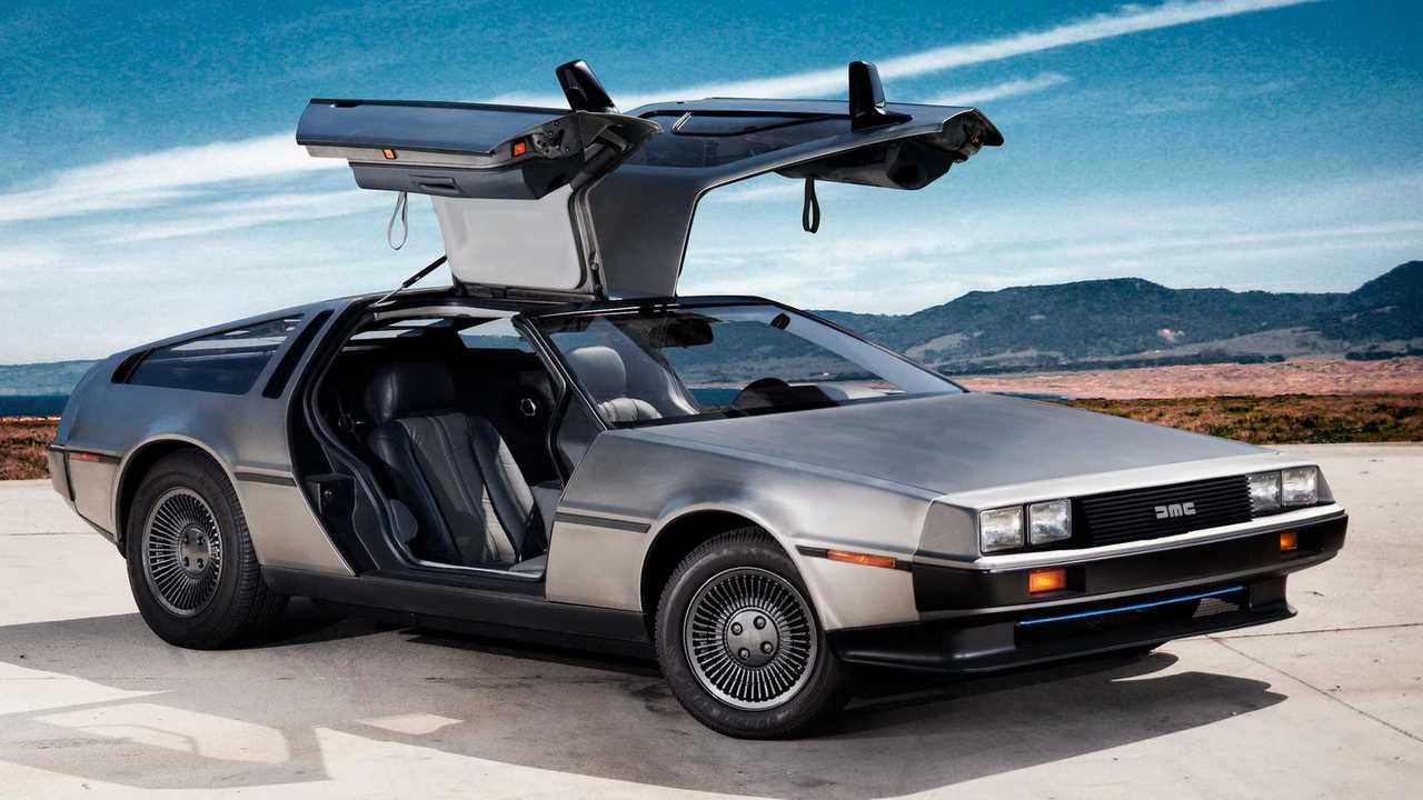 Copertina DeLorean