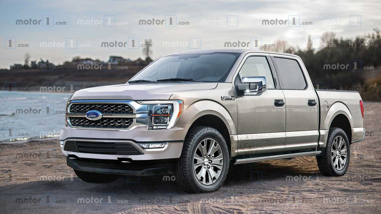 2021 Ford F-150 Rendering