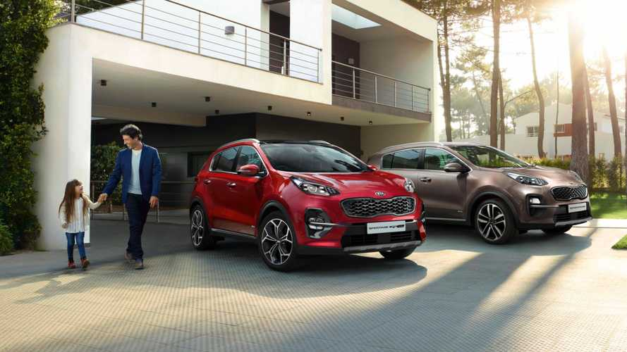 Kia updates Sportage with new mid-range '3' trim level