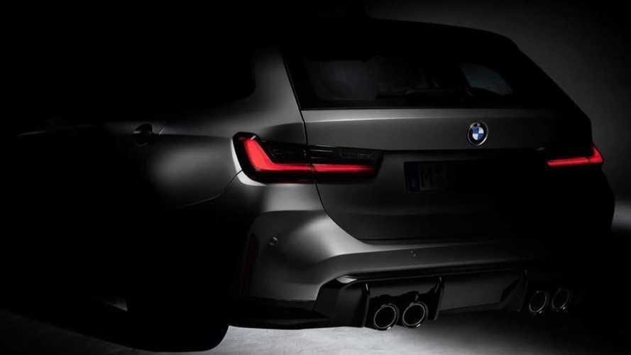 BMW M3 Touring'in ilk ipucu görüntüsü geldi