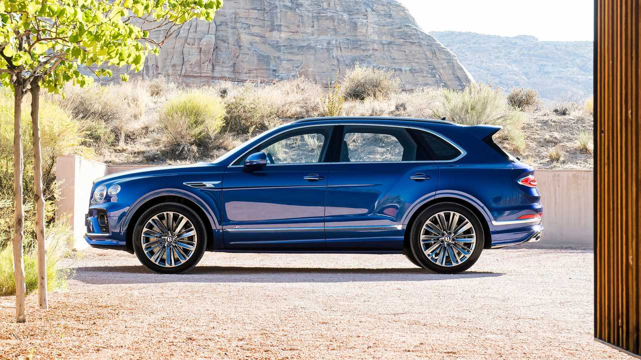 2020 Bentley Bentayga Speed W12