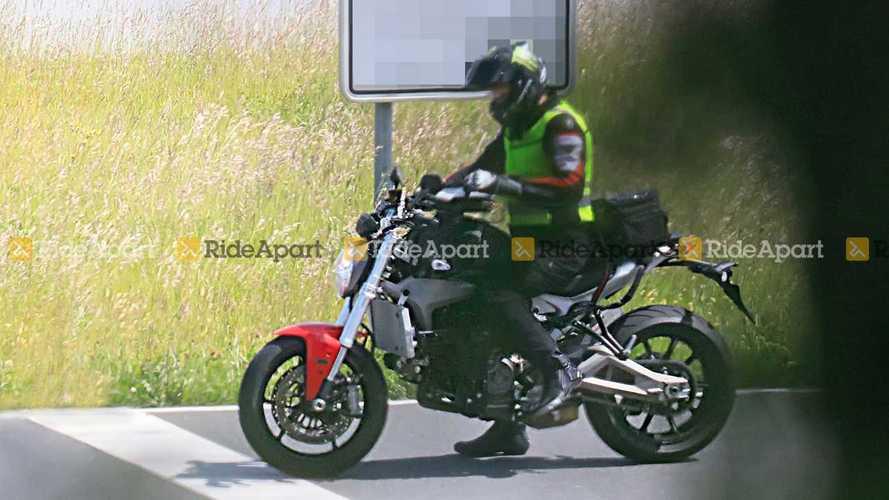 2021 Ducati Monster Spy Photos