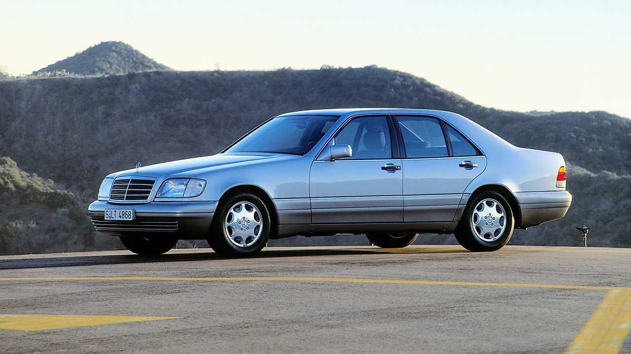 Série W140 (1991 - 1998)