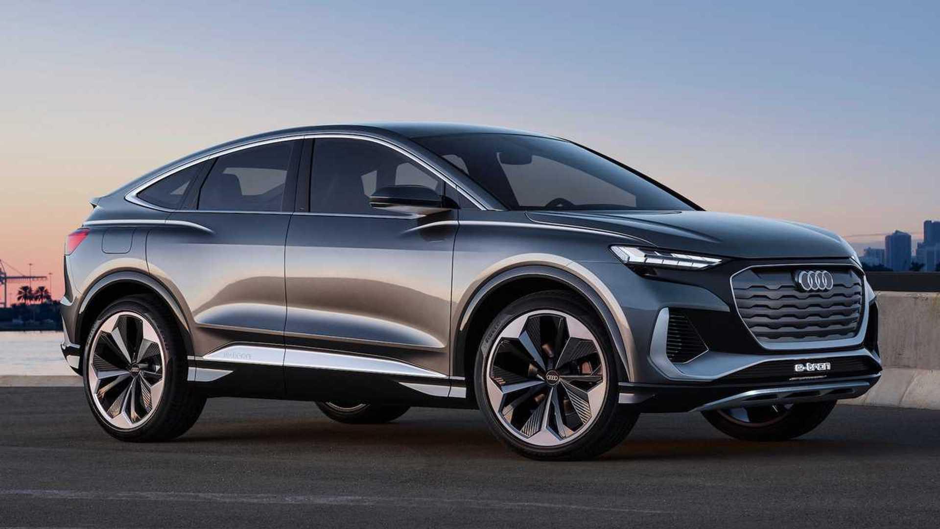 Audi Q4 Sportback e-tron concept: un SUV coupé totalmente eléctrico