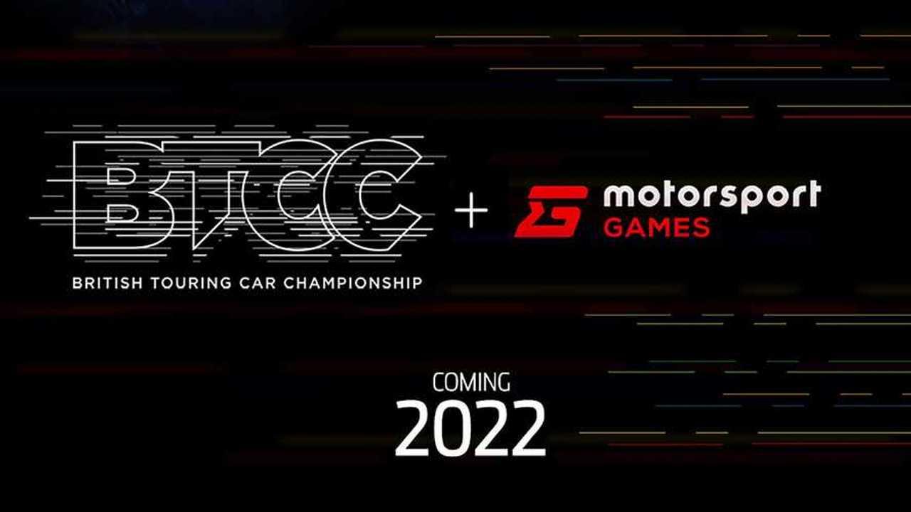 BTCC and Motorsport Games announcement