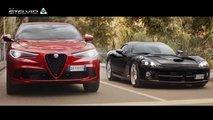 Alfa Romeo Stelvio vs Dodge Viper