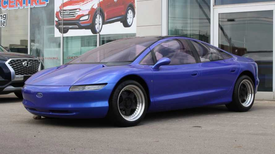 One-Off Ford Via Concept Car By Ghia Up For Auction At BaT