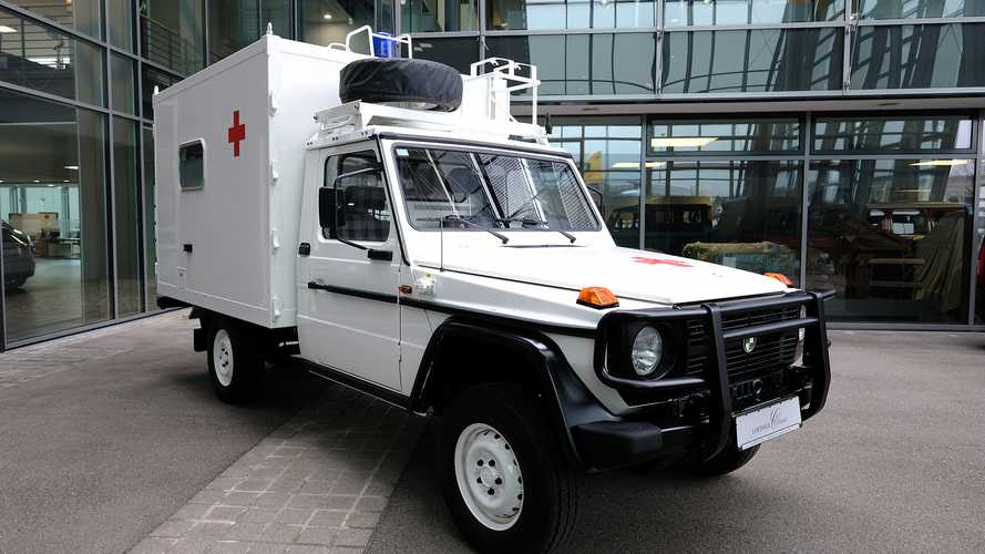 Rare 1994 Lorinser Puch G Ambulance Is Up For Sale