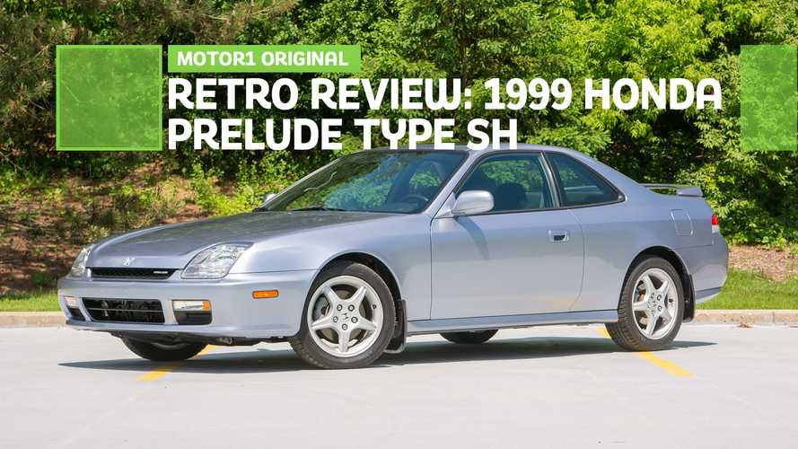 1999 Honda Prelude Type SH Retro Review: Back To Basics