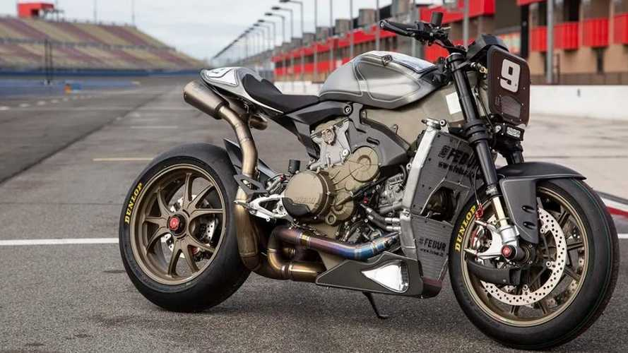 Roland Sands Works A Ducati Superleggera Into Streetfighter Shape