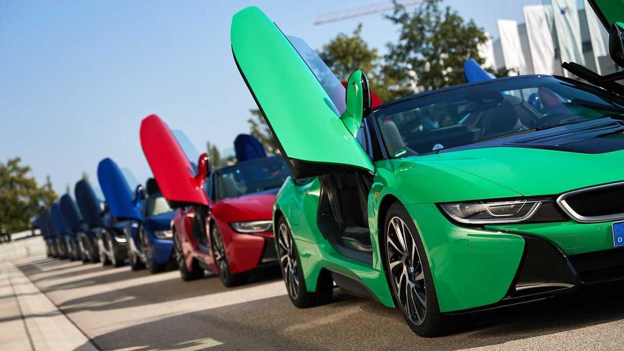 BMW i8 - Übergabe der letzten 18 Unikate