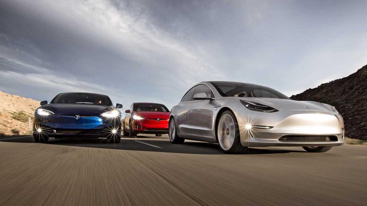 Tesla line up